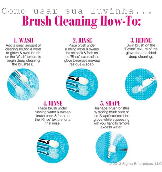 lavando pincéis