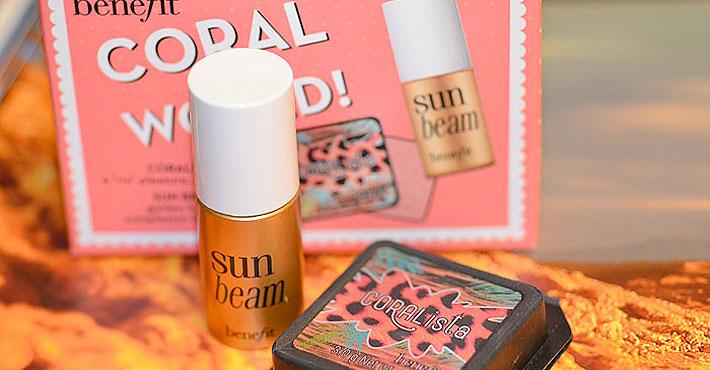 Miniaturas para amar sun bean e coralista da benefit - Amar atelier ...