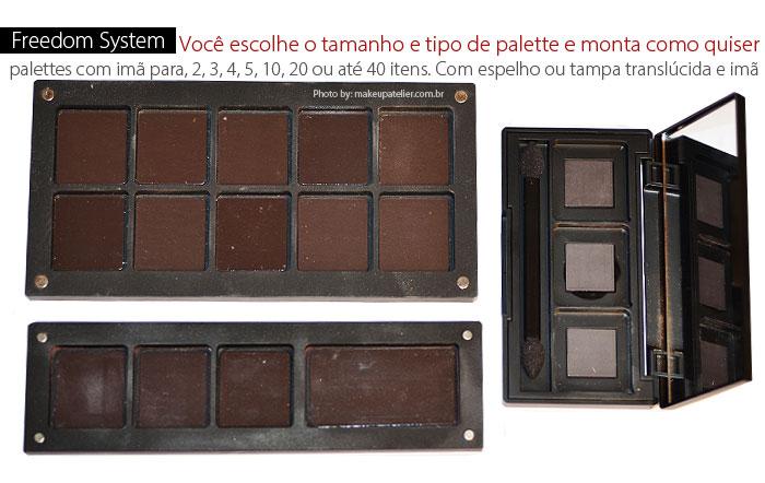 palettes inglot - Freedom System Palette