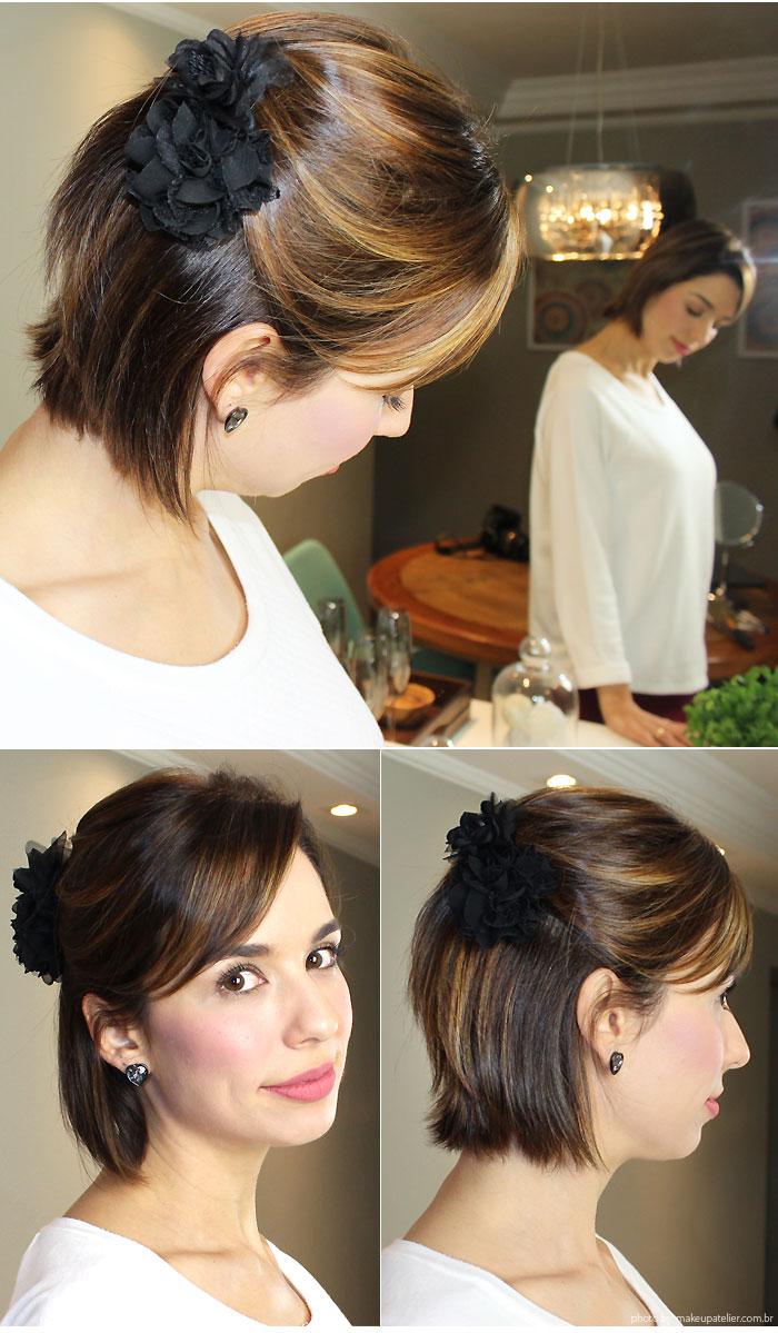 Penteados para cabelo curto