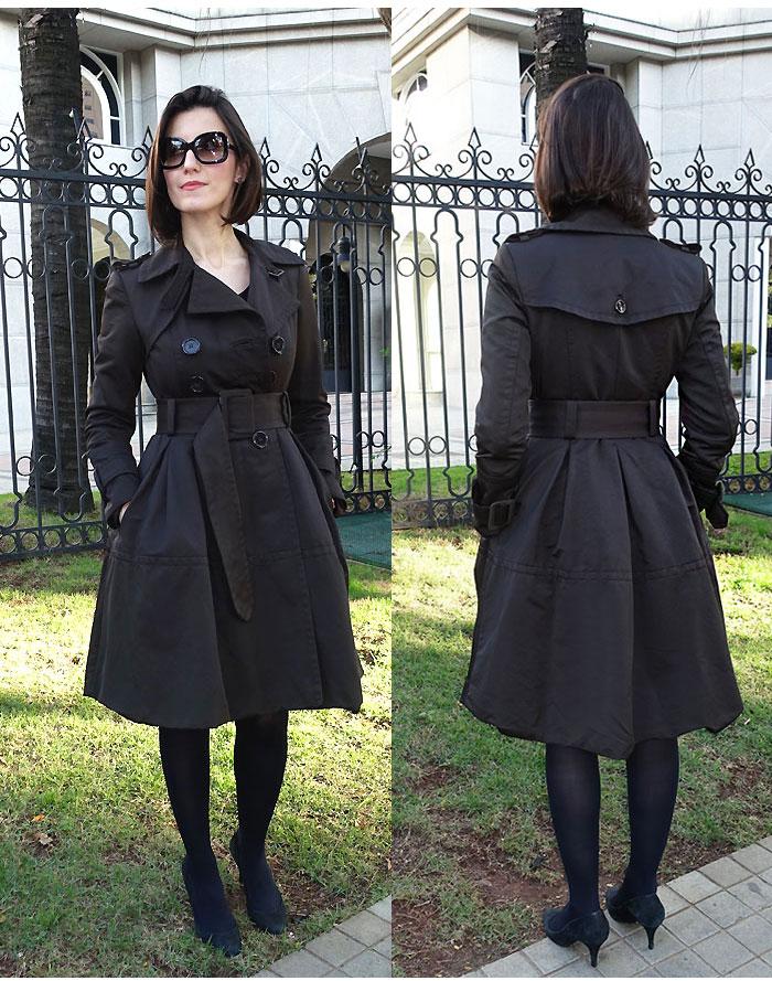 trench coat lady like