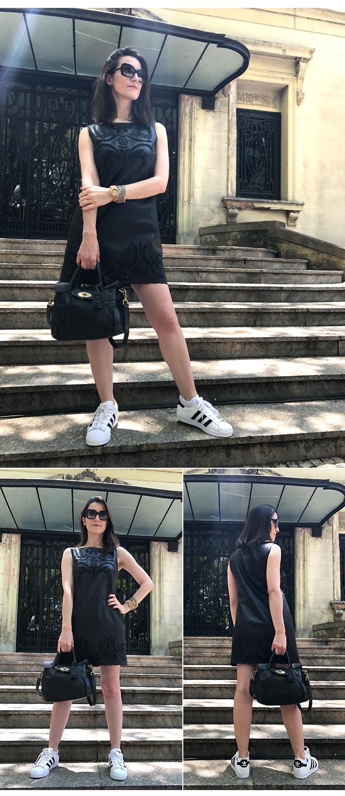 vestido-couro-tenis-adidas