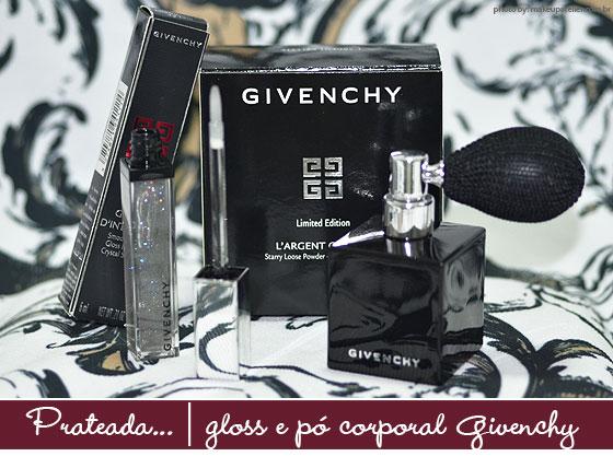 Givenchy com muito brilho
