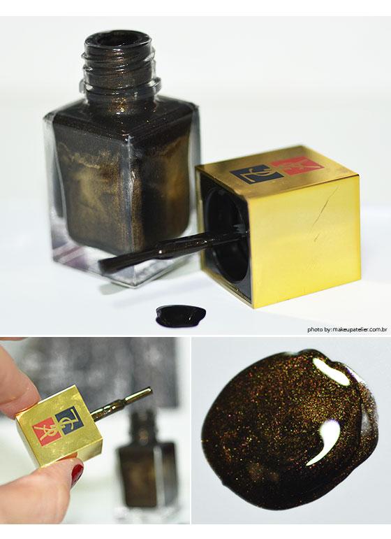 esmaltes YSL black bronze