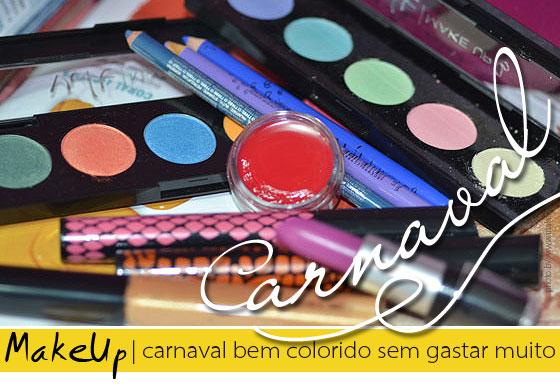produtos de maquiagem para o carnaval