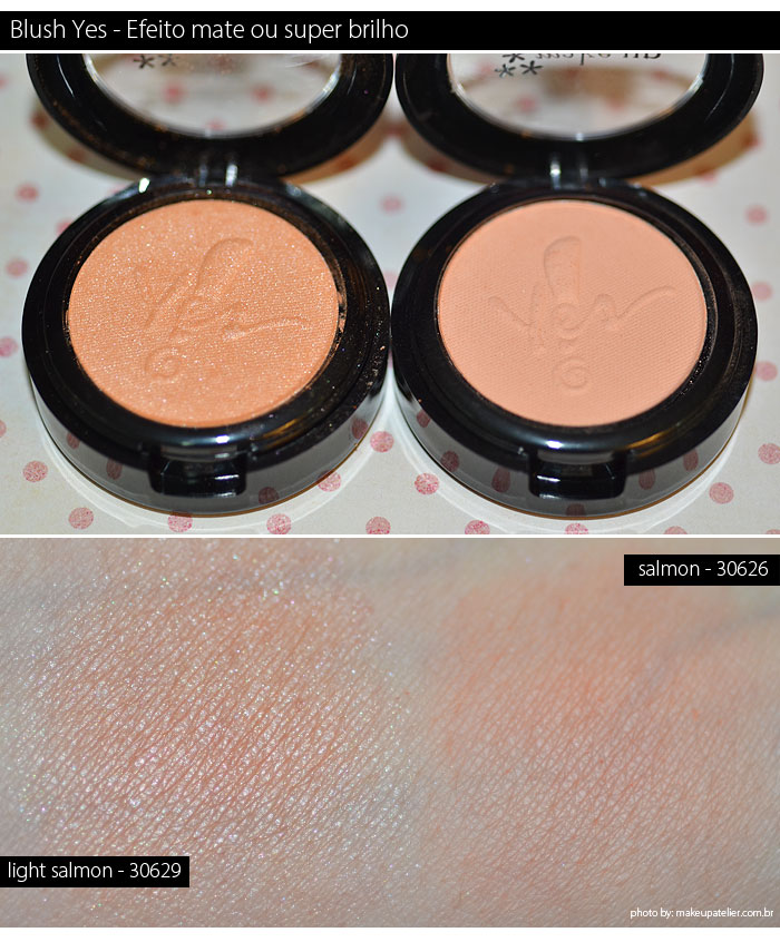 blush yes cosmetics