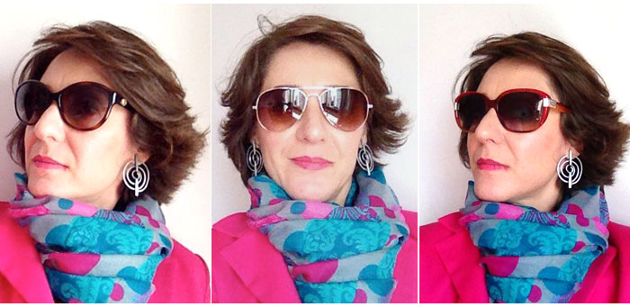 Como escolher o melhor par de óculos de sol para cada formato de rosto. 84f8c17546