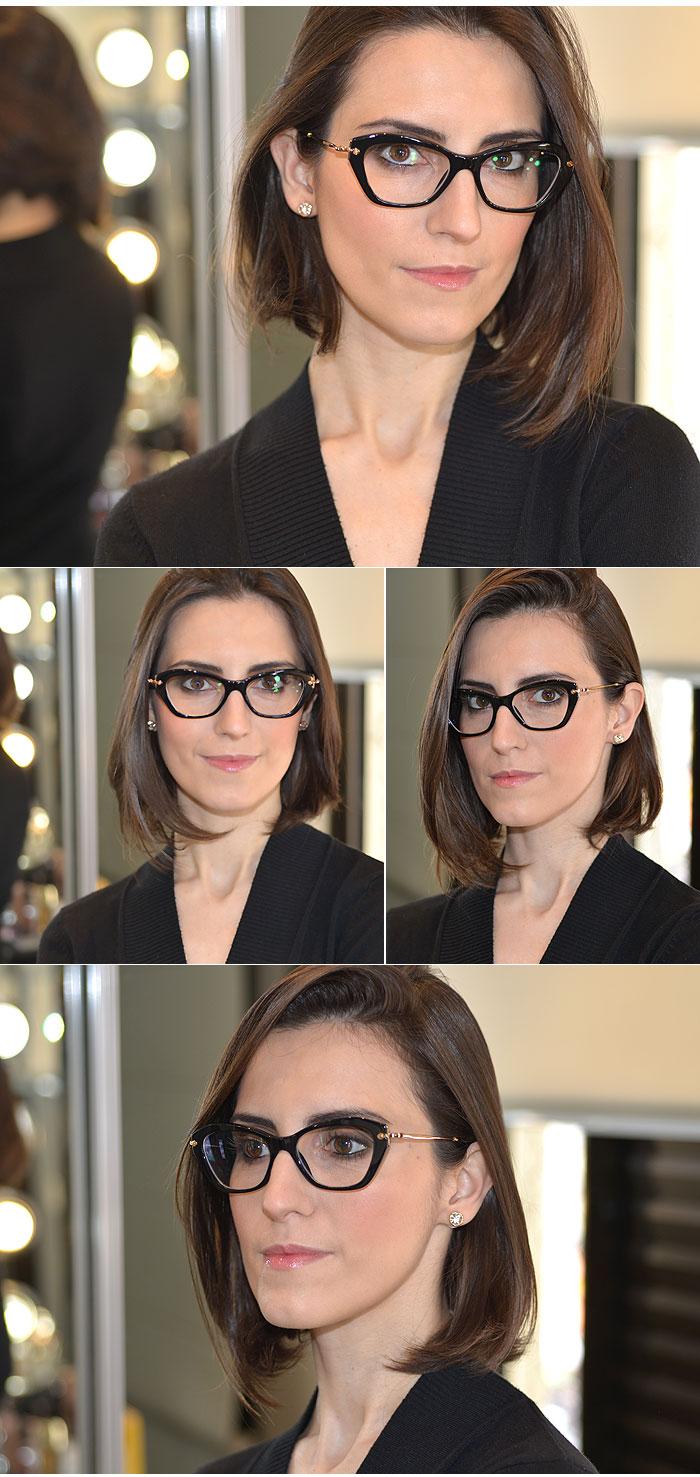 1a1450c681335 Miu Miu  Mais um par de óculos de grau para coleção. - MakeUp ...