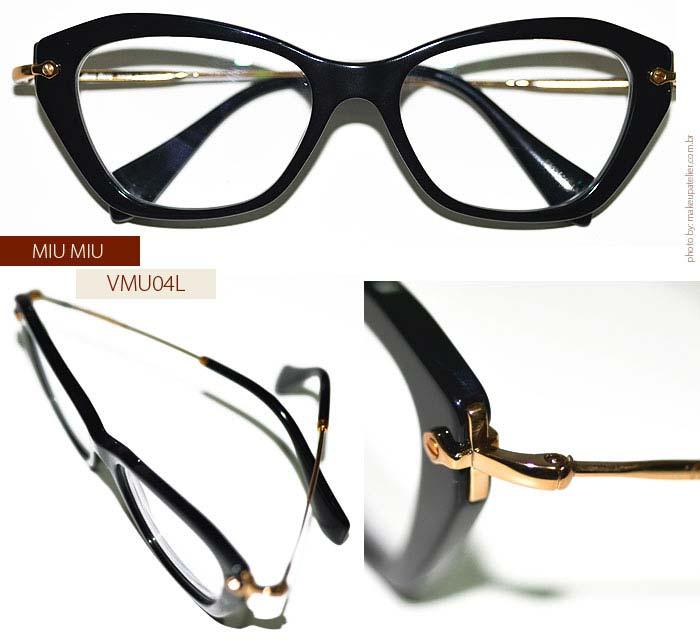 Miu Miu  Mais um par de óculos de grau para coleção. - MakeUp ... 2cec3b3c3d