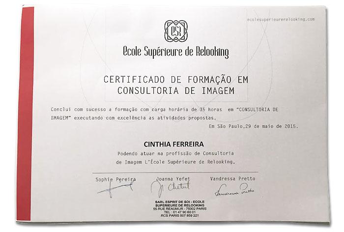 diploma consultoria moda