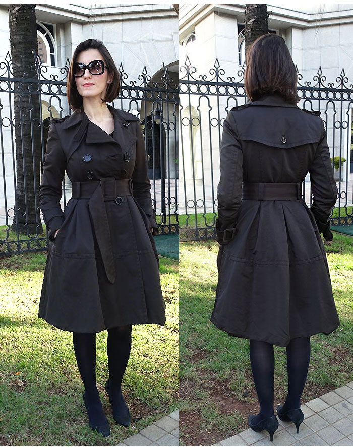trench coat lady like