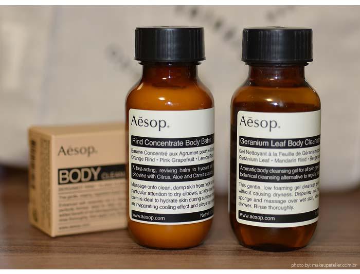 aesop produtos para o corpo