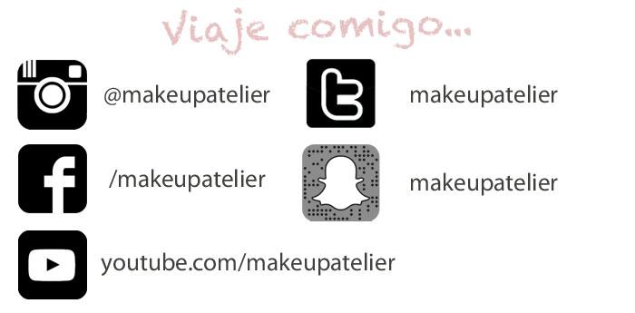 makeupatelier nas redes sociais