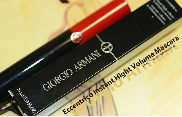 910a8f8222380 Máscara de cílios   Eccentrico Mascara da Giorgio Armani Beauty