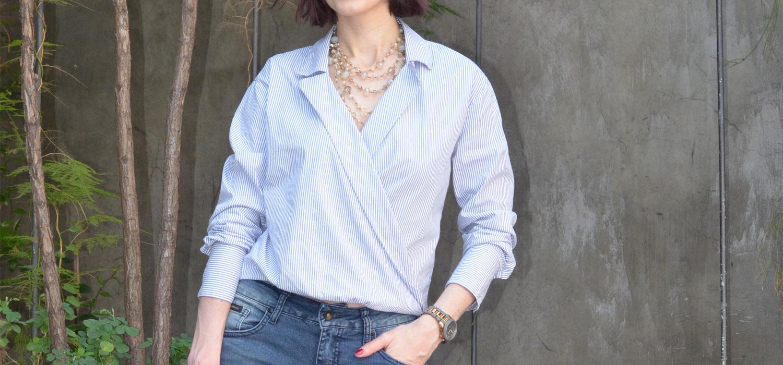 Look do Dia   Boyish Style com jeans masculino e camisa listrada