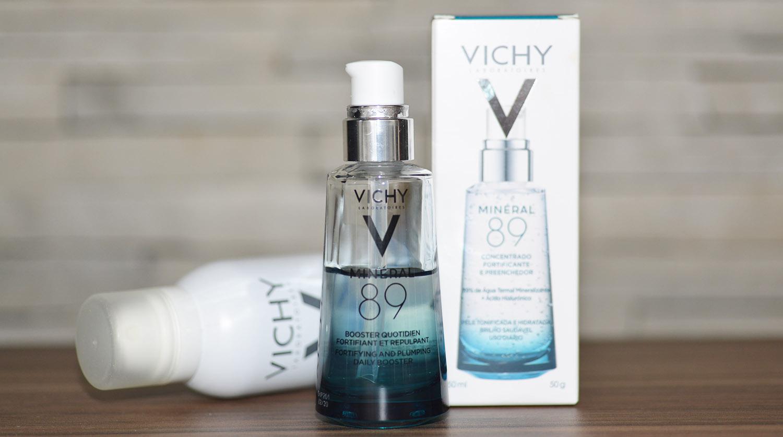 Pele   Testando o novo e delicioso Mineral 89 da Vichy