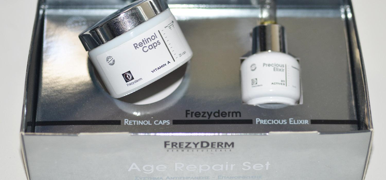 Retinol anti sinais | Testando Kit age repair da Frezyderm