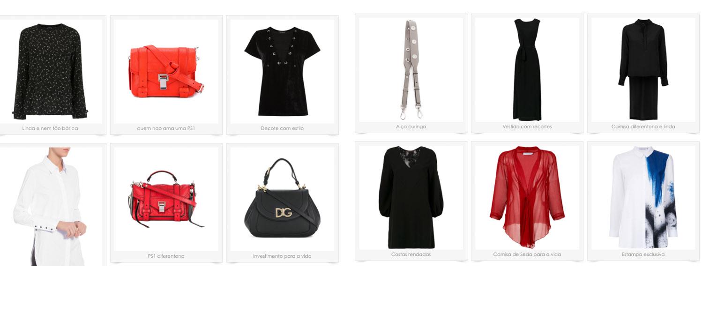 Minhas escolhas de roupas e acessórios para aproveitar bem a liquidação