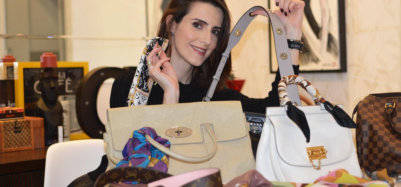 MODA| Alças avulsas lenços e truques para deixar sua bolsa com cara nova