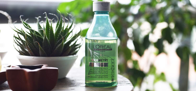 Cabelo com volume  Testei o shampoo Volumetry da L'oréal Professionnel