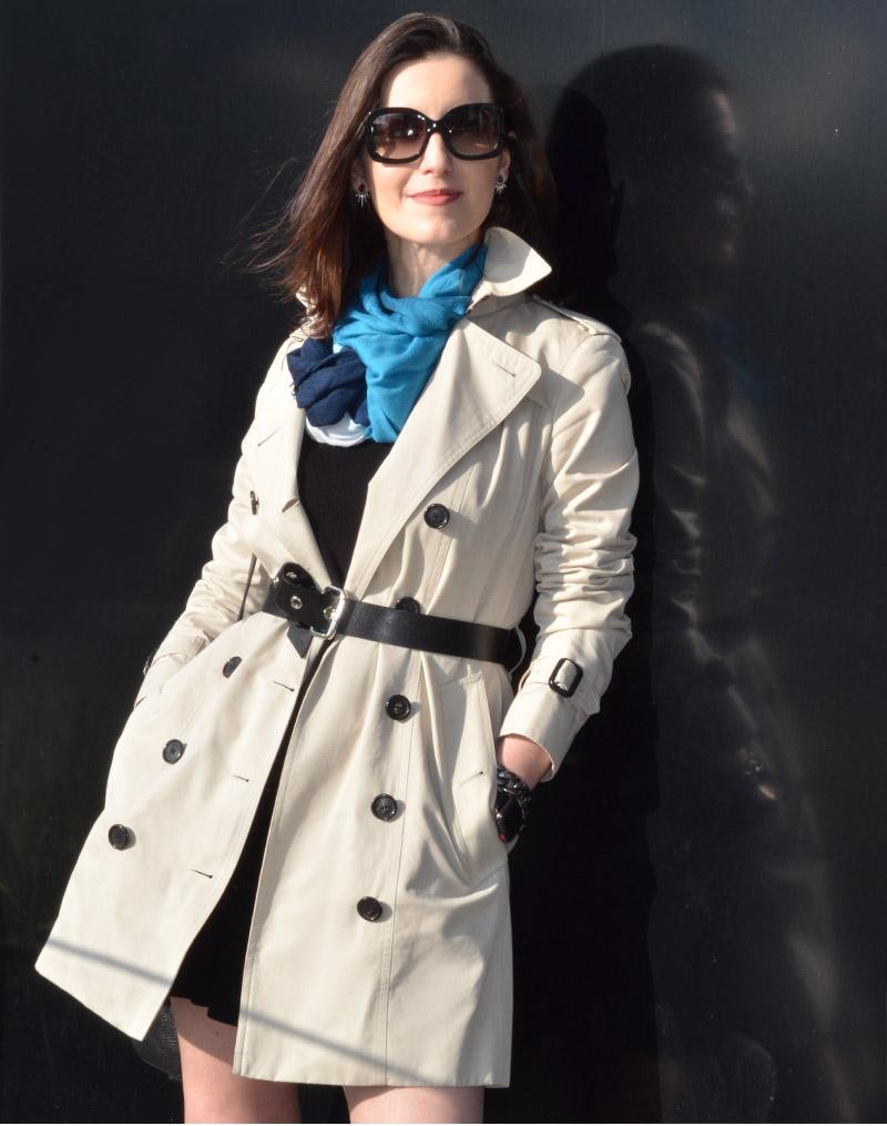 b610807ce ... trench coat