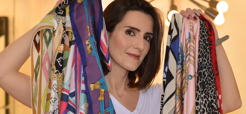 #ModaNoMake |Lenços de seda no verão. Como usar e como escolher