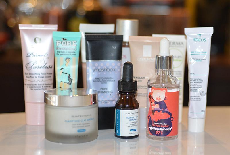 Melhores produtos para reduzir e camuflar os poros