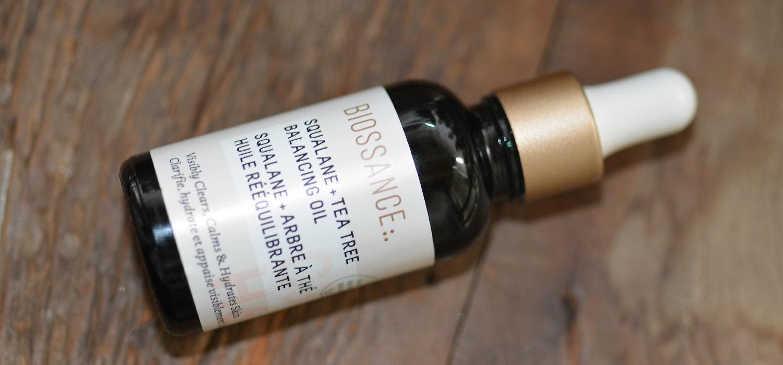 Pele Oleosa | óleo facial equilibrante Tea Tree com Esqualano da Biossance