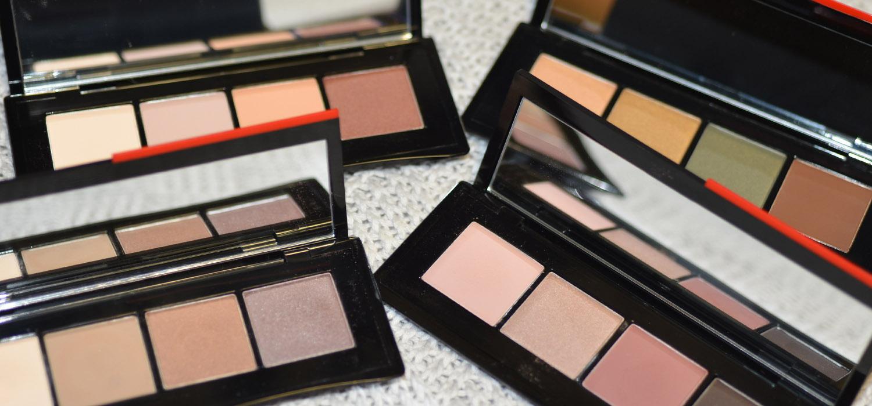 Essentialist Eye Palette da Shiseido | Amostra de todas as cores