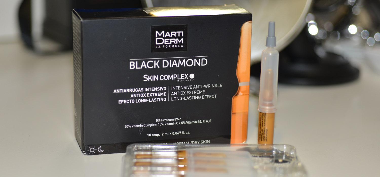 Black diamond skin complex ampôlas com vitamina C da Martiderm