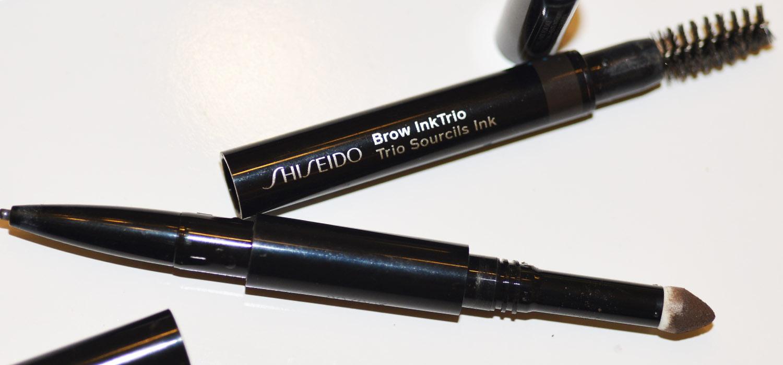 Sobrancelhas perfeitas   3 em 1 Brow Inktrio Shiseido