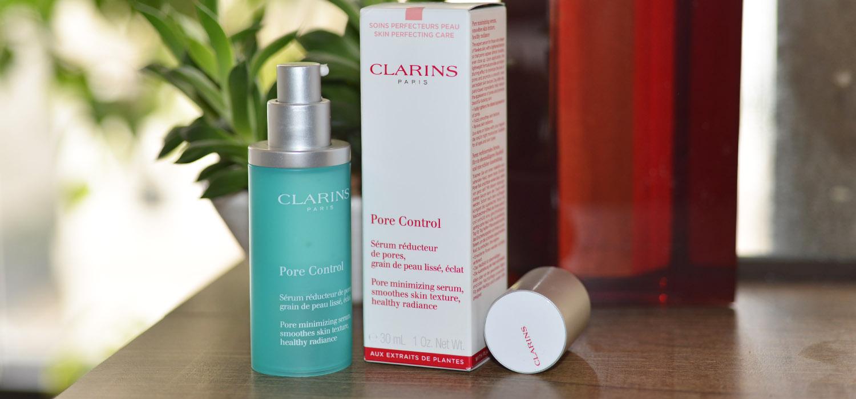Minimizando os poros com Pore Control de Clarins