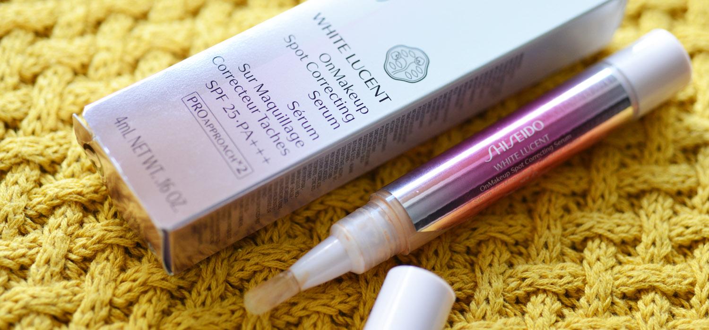 Corretivo para melasma e manchas |  Clareador White Lucent Shiseido OnMakeup Spot Correting Serum