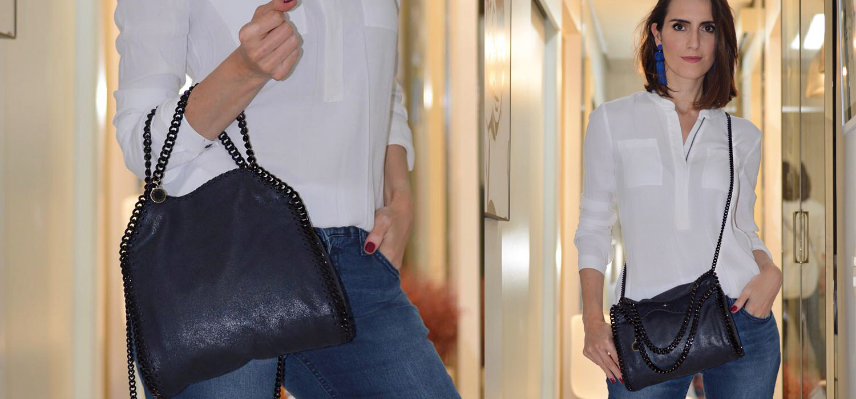 Bolsas de Luxo Vegana | Stella McCartney tote Falabella mini