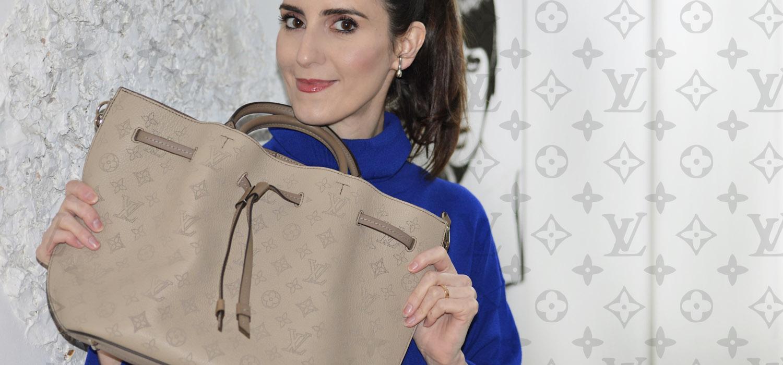Bolsas de Luxo   Minha 2 em 1 Louis Vuitton Mahina Girolata  REVIEW