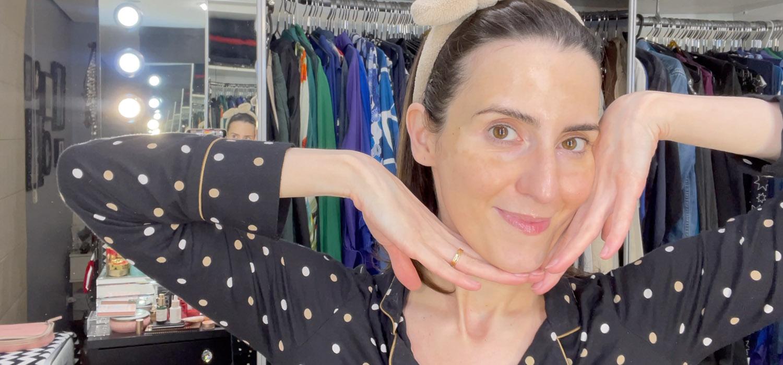 Rotina Noturna de Skincare   Passo a passo dos produtos na vida real